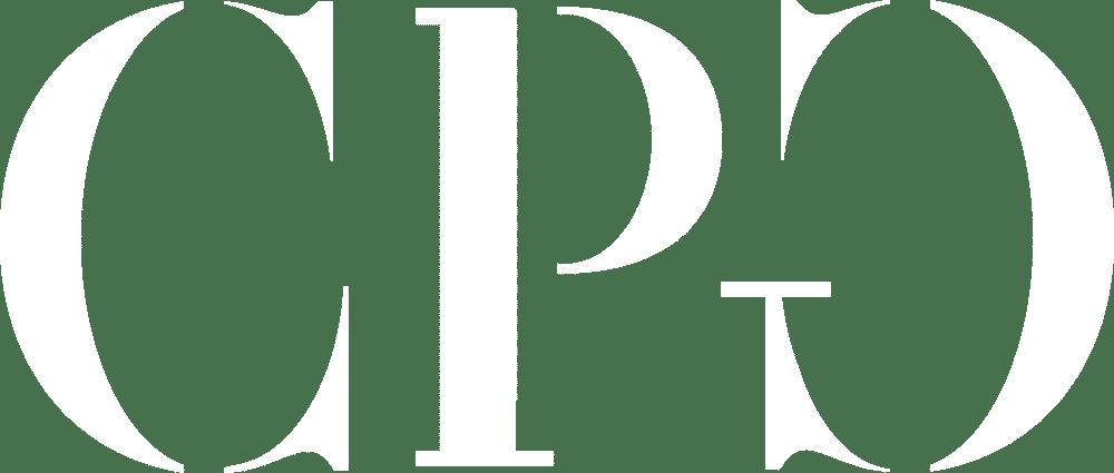 CPG logo white